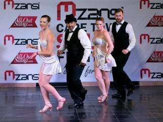 Semi- pro team Just dancing Salsa