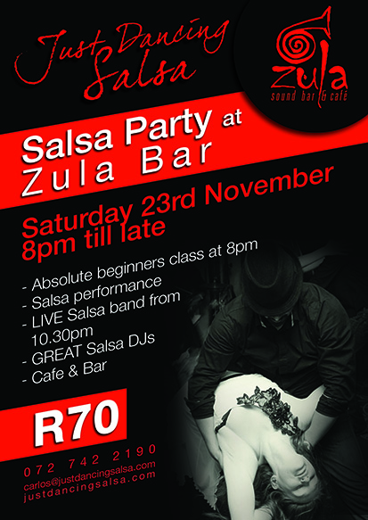 Salsa Party at Zula Bar