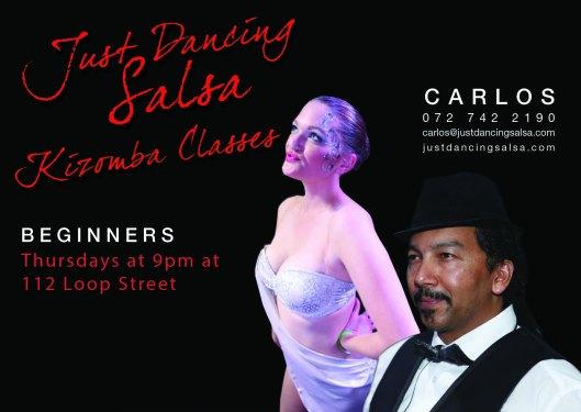 Just Dancing Salsa- Kizomba Classes